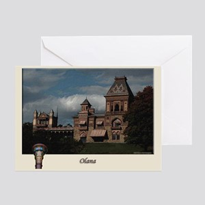Olana Frederick Church Greeting Card
